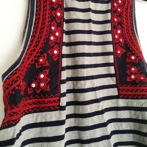 Cotton Moroccan Free People top